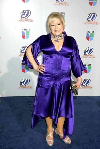 Nancy Álvarez sí que se voló la barda. Por el color y el diseño de ese v...