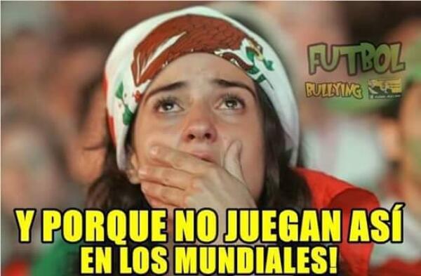Las burlas no perdonaron la forma en la que México empató con Argentina...
