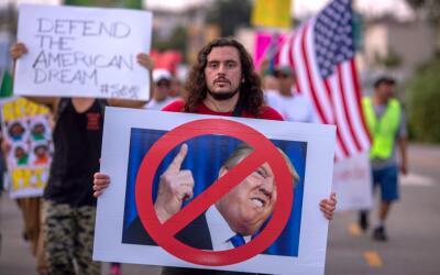 Miles marcharon en septiembre del año pasado en Los Ángele...