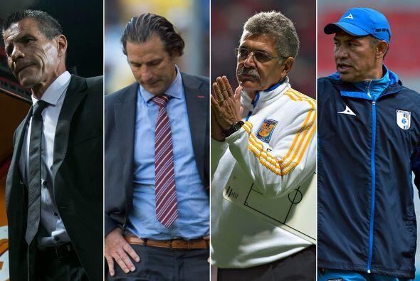 Los pobres resultados de algunos entrenadores los han puesto en una situ...