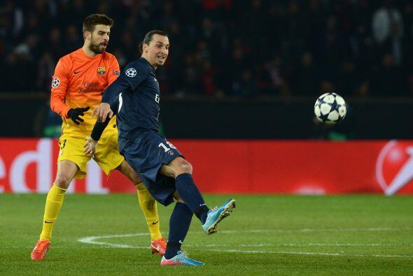 El PArís Saint germain se lanzó al ataque en busca del empate.