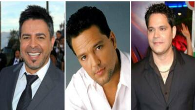El nicaragüense Luis Enrique, el panameño Roberto Blades y el cubano Rey...