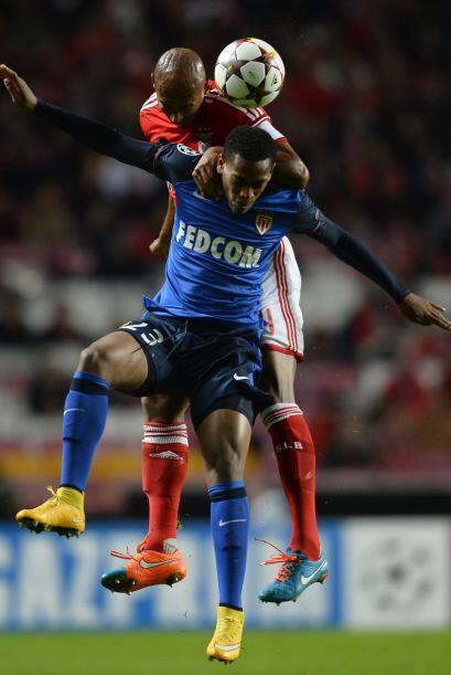 Con gol de Anderson Talisca, el Benfica condiguió su primer triunfo en l...