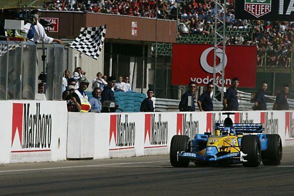 El año 2003 fue el de su primera 'pole' y su primer podio, en Malasia, e...