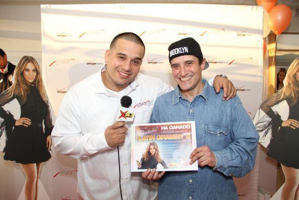 Henry Santos anunció al ganador que se va pa' los Latin Grammys en el Vi...