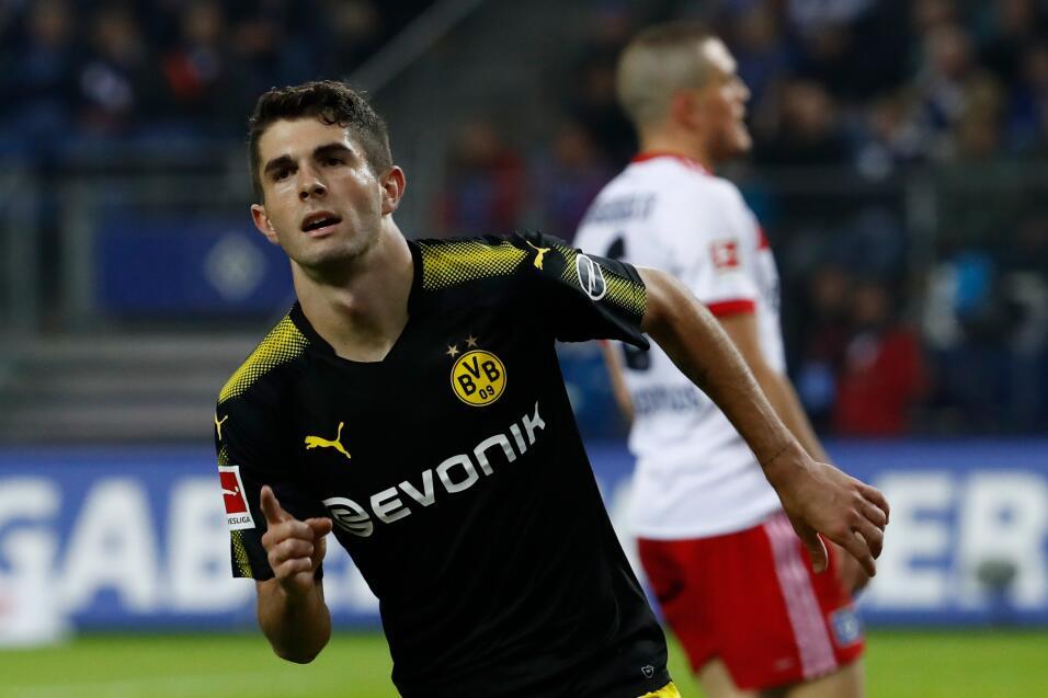 4. Christian Pulisic - Mediomcapista (Estados Unidos / Borussia Dortmund)