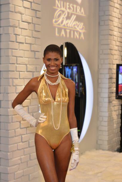 Ceylin Guzmán de República Dominicana, audicionó en Nueva York. Ella es...