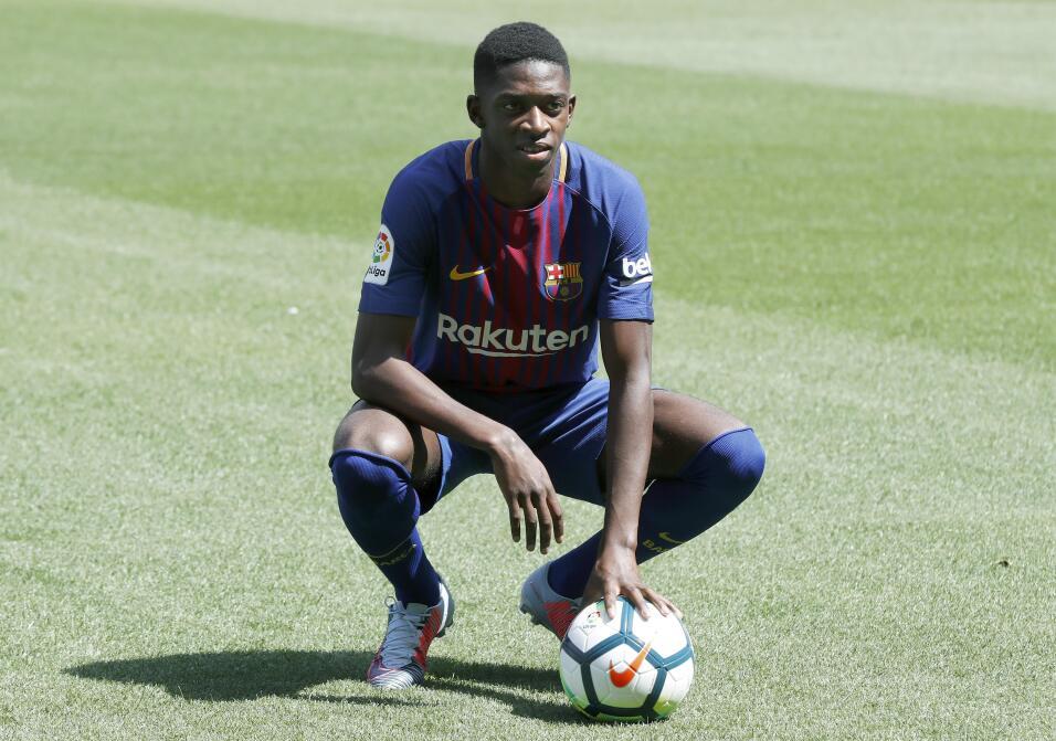 Ousmane Dembélé vuelve a los entrenamientos con Barcelona 63639530204811...