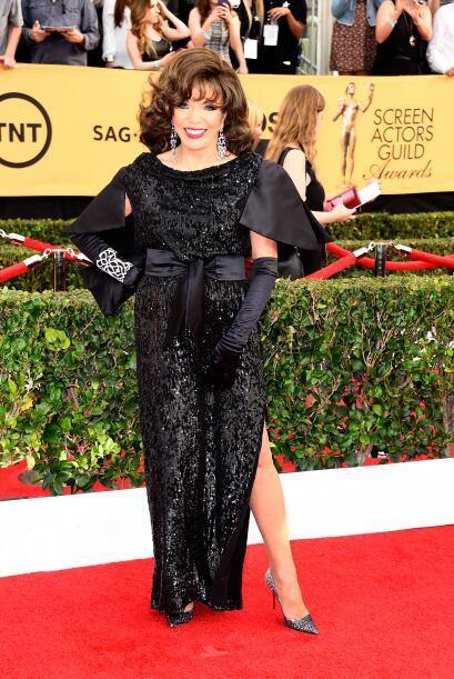 ¿Qué tal el icono de la TV, Joan Rivers? ¡A un lado, déjenla pasar!
