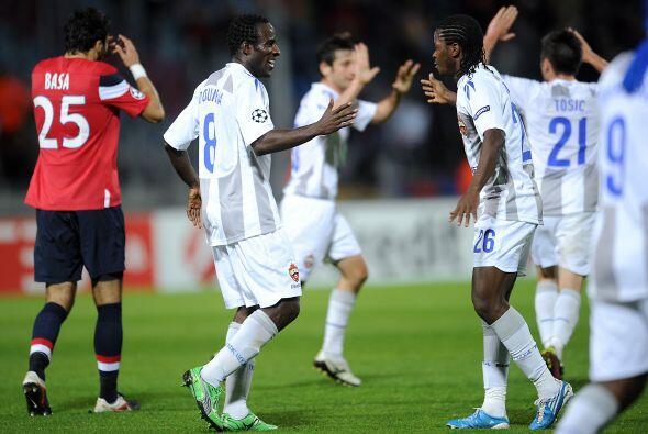 El partido fue entretenido y lleno de goles.