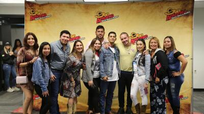 J Balvin greets fans at San Antonio Rodeo