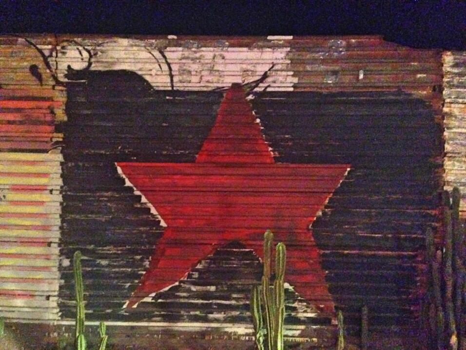 Mural en el muro