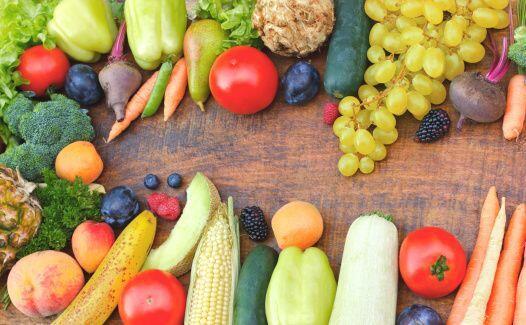 Afortunadamente, con la primavera vienen las abundantes frutas y verdura...