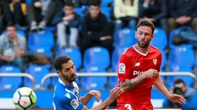 En fotos: con Layún todo el partido, Sevilla empató sin goles en su visita a La Coruña