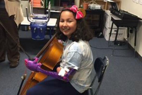 Tatiana Coletta, de nueve años y estudiante de cuarto de primaria en la...