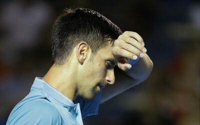 Novak Djokovic volvió a tener un partido complicadísimo an...
