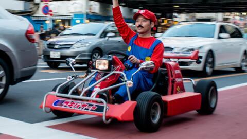 Las carreras en estos karts se han transformado en un favorito de los tu...