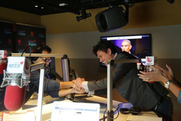 Saúl Hernández con Omar y Argelia