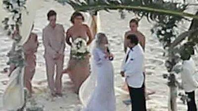 Fotos de la boda de Johnny Depp y Amber Heard