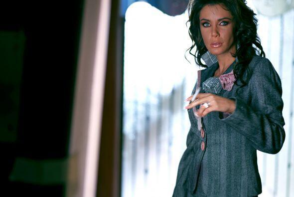 """Sabine Moussier es """"Fabiola"""", la esposa de Bruno."""