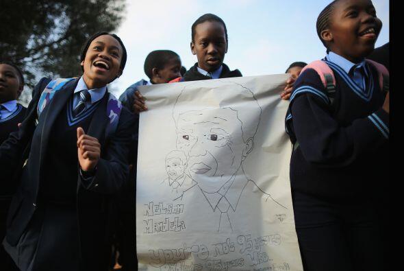 El presidente del país, Jacob Zuma, dio una buena noticia a sus c...