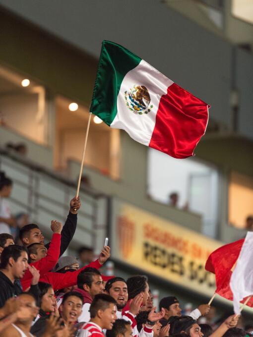 Muestras de apoyo en la Liga MX: Necaxa 1-0 Querétaro