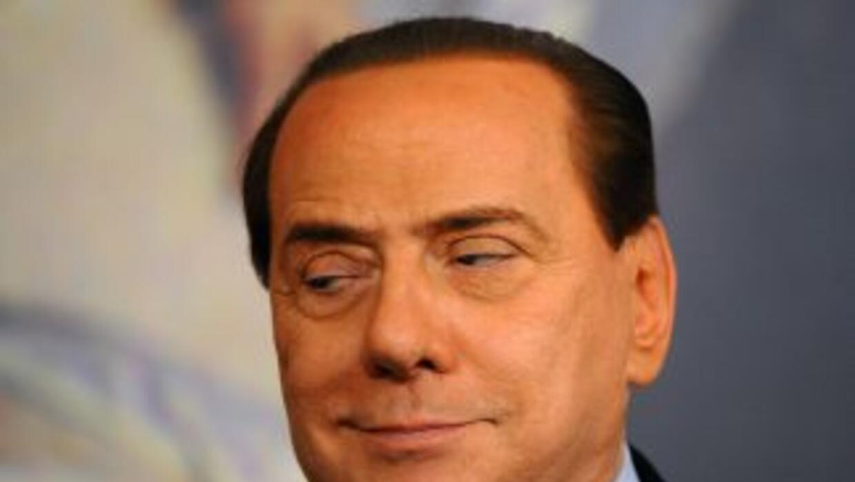 El polémico político y magnate italiano, Silvio Berlusconi.