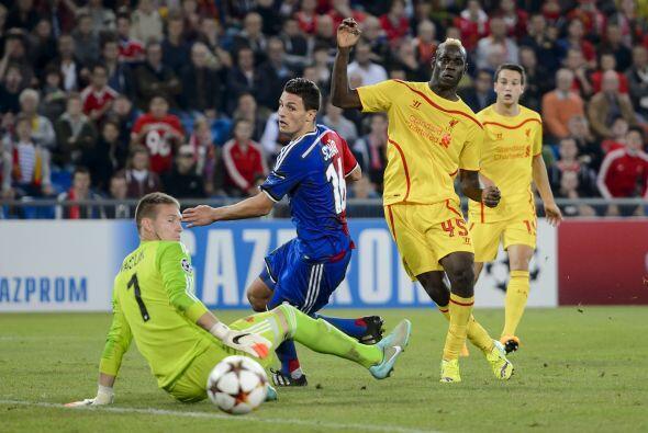 El Liverpool cayó de visitante por 1-0 con el Basel, el gol de lo...