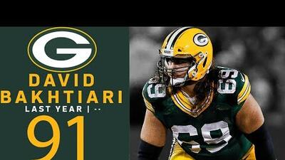 #91 David Bakhtiari (OT, Packers) | Top 100 Jugadores NFL 2018