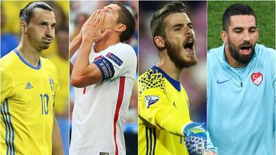 El 11 de pesadilla de la primera fase de la Eurocopa de Francia 2016