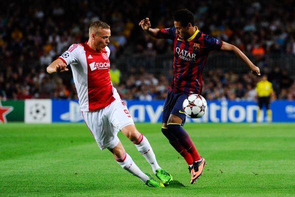 Barcelona iba acabando con la poca resistencia que le quedaba a los hola...