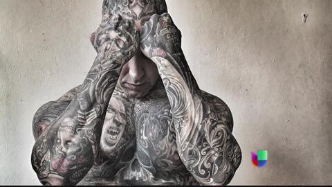 Hecho Aquí: Hombre calcula que ha gastado 300,000 dólares en tatuajes en...