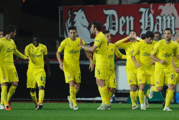 Y el Villarreal no perdonó de cara al marco rival.