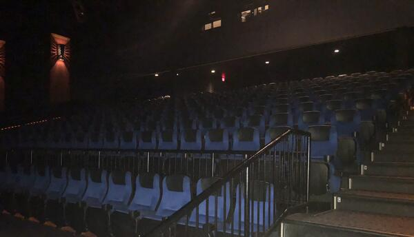 The seats in the IMAX theater remain the same.