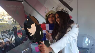 Francisca invitó a su gente neoyorquina a ver NBL VIP
