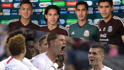 Tri vs. Team USA: por el orgullo de decir qué país tiene la mejor juventud de la Concacaf