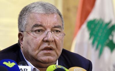 El ministro libanés de Interior fue el encargado de dar detalles...
