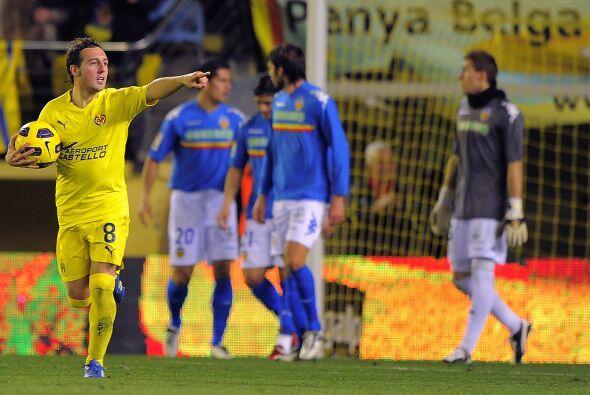 Y así fue, al menos para Valencia, pues Santo Cazorla logró el tanto del...