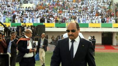 Mohamed uld Abdel Aziz, presidente de Mauritania