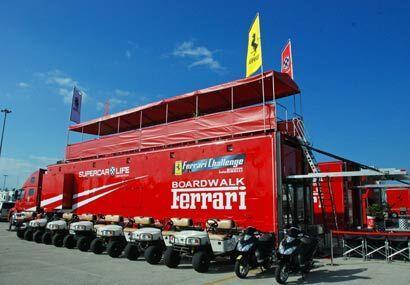 La temporada del Ferrari Challenge 2009 arrancó en el Autódromo de Homes...