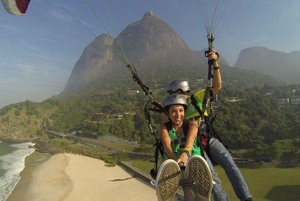 Esta aventura de altura seguramente la recordará por siempre. ¡A volar s...