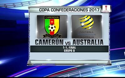 Contacto Deportivo Houston: Día de empates en Copa Confederaciones