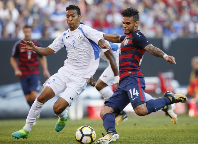 El Team USA le quitó el primer lugar del Grupo B a Panamá  AP_1719700378...