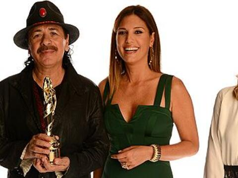 Las personalidades latinas se dieron cita para dar un reconocimiento a d...