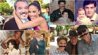 Los conductores de Despierta América celebran a sus papás en su día (fotos)
