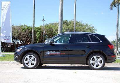 A pesar de ser una SUV, la Q5 acelera de 0 a 60 millas por hora en 6.7 s...