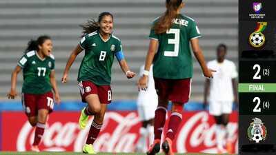 ¡Históricas! Tri Femenil avanza por primera vez a la Semifinal del Mundial Sub-17