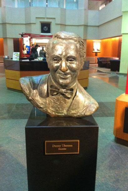 Danny Thomas, fundador del St. Jude, creó el hospital para dar una esper...