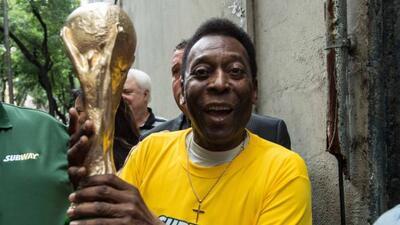 Con la suspensión del tratamiento renal, Pelé volverá a ser evaluado par...