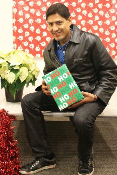 Para  Julián Rodríguez la navidad es reunión familiar, comidas, regalos,...